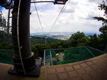 Фуникулер на парке Hatyai, Hat Yai, Таиланде Стоковая Фотография
