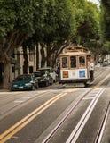 Фуникулер в Сан-Франциско Стоковая Фотография