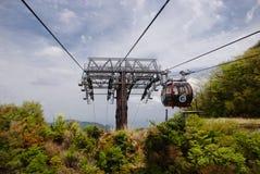 Фуникулер на Hakone, Японии Стоковые Изображения
