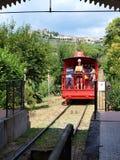 Фуникулярный, Montecatini Terme, Италия стоковое изображение rf