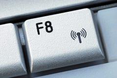 функциональная клавиша f8 Стоковое Изображение