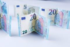 Фунты, 20 английских фунтов Стоковая Фотография RF