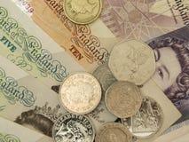 Фунты великобританского Sterling Стоковые Изображения