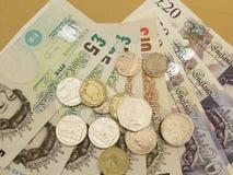 Фунты великобританского Sterling Стоковая Фотография RF
