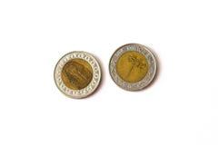 Фунт монетки 1 египетский, EGP Стоковое Фото