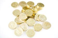 фунт монеток Стоковые Фото