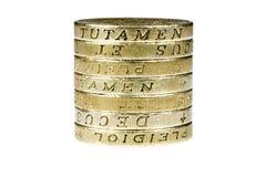 фунт монеток Стоковое Фото