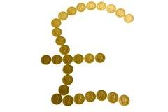 фунт монеток Стоковая Фотография RF