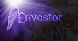Фунт стерлинга инвестора Анджела Стоковые Изображения RF