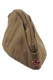 Фураж-крышка воинов Советской Армии. Стоковое Изображение RF