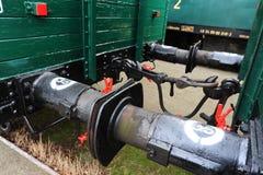 фура поезда бамперов Стоковое фото RF