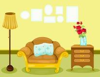 фура софы комнаты углового обеда нутряная живущая Стоковое Фото