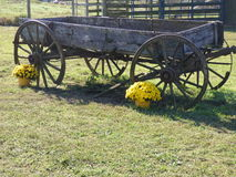 фура фермы старая Стоковое Фото