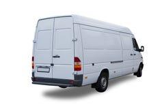фургон изолированный грузом Стоковые Фото