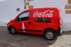 Фургон поставки напитка кока-колы и изверга Ed Стоковые Фотографии RF