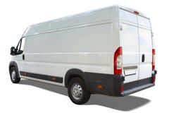 фургон поставки Стоковые Фотографии RF
