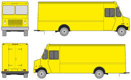 Фургон шага для дизайна Стоковые Фотографии RF