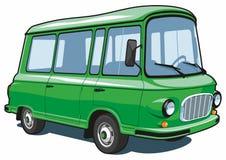 Фургон шаржа Стоковое Фото