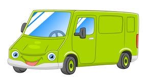 Фургон шаржа Стоковая Фотография