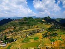 Фургон Ha Giang Вьетнам Дуна Стоковое Изображение
