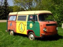 фургон hippie Стоковая Фотография RF
