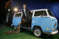 фургон roger beaumon аукциона потерянный Стоковое фото RF
