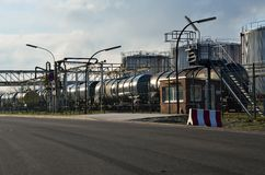Фуры бака с топливом и маслом Стоковая Фотография RF
