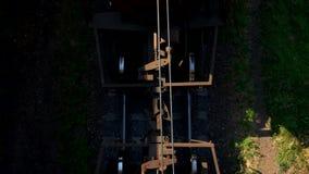 Фуры поезда взгляд сверху