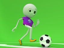 футболисты Стоковые Фотографии RF