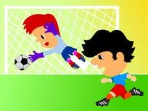 футболисты Стоковая Фотография RF