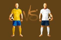 Футболист футбола иллюстрации вектора иллюстрация штока