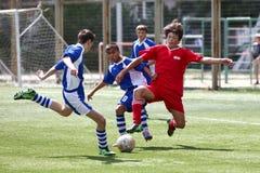 футболист шарика стоковое фото