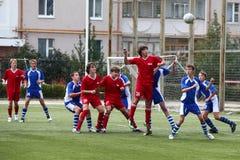 футболист шарика Стоковое Изображение RF