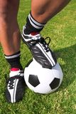 футболист шарика Стоковые Изображения RF