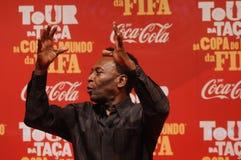 Футболист Pelé мира больший стоковые фото