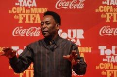Футболист Pelé мира больший стоковое изображение rf