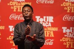 Футболист Pelé мира больший стоковое фото