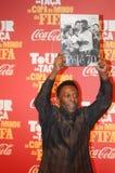 Футболист Pelé мира больший стоковые фотографии rf