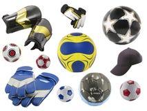 футболы Стоковые Изображения RF