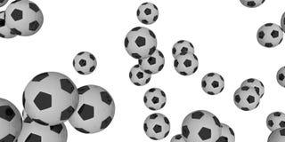 футболы Стоковые Фотографии RF