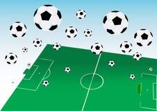 футболы Стоковая Фотография