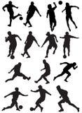 футбольная игра Стоковые Фото