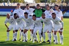 Футбольная команда Metallurg Стоковые Изображения