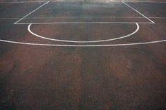 Футбольное поле и маркировка стоковое изображение rf