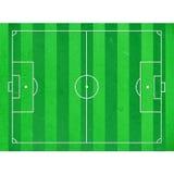Футбольное поле отрезка бумаги риса Стоковое Изображение RF