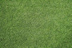 Футбольное поле предпосылки текстуры зеленой травы Стоковые Изображения