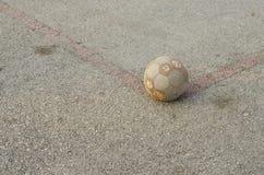 Футбольное поле улицы Стоковое фото RF