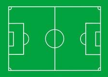 Футбольное поле иллюстрация вектора