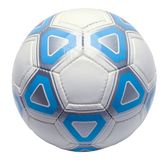 Футбольный мяч отрезанный вне Стоковая Фотография RF