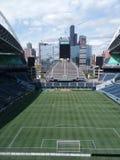 Футбольный стадион связи столетия Стоковое фото RF